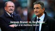 VI Nations - Brunel vs. Novès, qui a le meilleur bilan ?