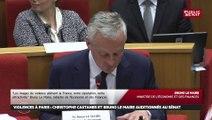 Audition, Le Maire : « ceux qui veulent faire la révolution (…) font le malheur de dizaines de milliers de personnes »