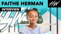 This Is Us Faithe Herman Reveals How Filming Shazam! Was With Asher Angel!!   Hollywire
