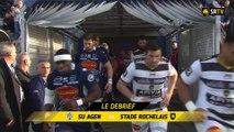 Agen / Stade Rochelais : le Debrief