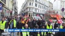 A la Une : Plus d'un millier de personnes dans les rues à Saint-Etienne / Quel état d'esprit des gilets jaunes avant le grand rassemblement régional prévu à Saint-Etienne / Le handicap mental prend part aux débats / Il relance la fabrication de vélo à Sai