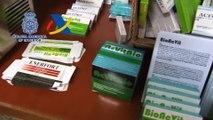 Acción policial 18 detenidos por venta ilegal de medicamentos en islas Canarias, Granada y Alicante