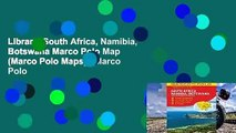 Library  South Africa, Namibia, Botswana Marco Polo Map (Marco Polo Maps) - Marco Polo