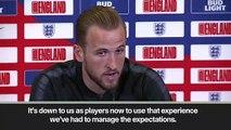(Subtitled) Kane targets winning UEFA Nations League