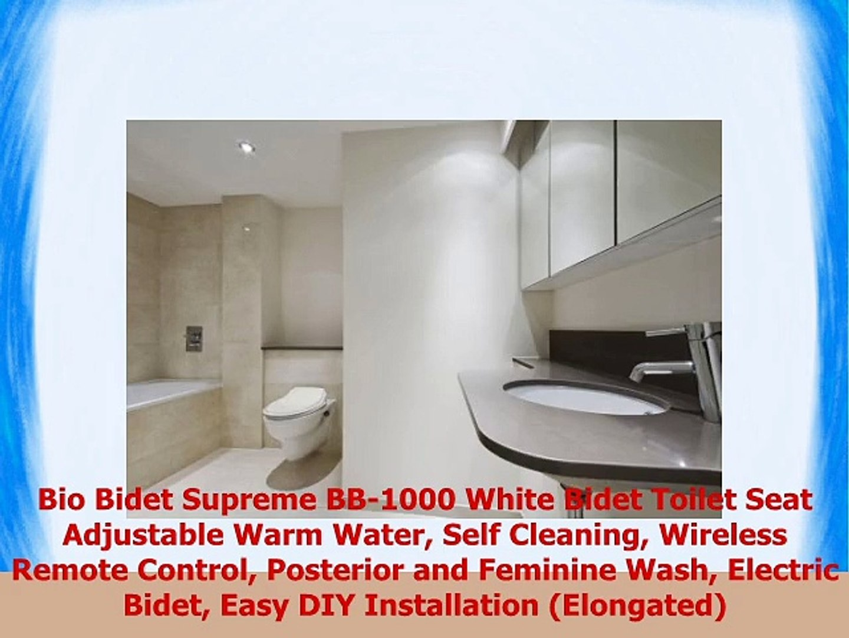 Phenomenal Bio Bidet Supreme Bb1000 White Bidet Toilet Seat Adjustable Machost Co Dining Chair Design Ideas Machostcouk