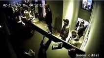 Beşiktaş'taki Dorock XL'deki kadına şiddetin görüntüleri ortaya çıktı