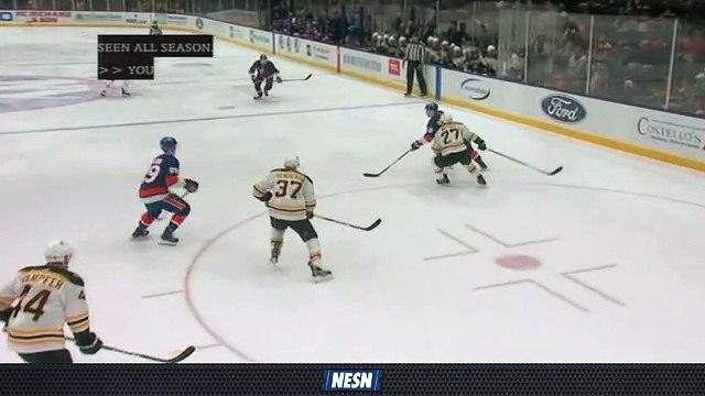 Tuukka Rask Makes Big Stop To Keep Bruins Shutout Alive
