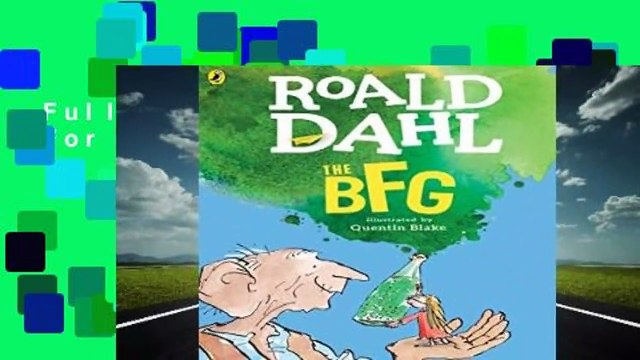 Full E-book  The BFG  For Kindle