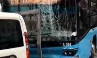 Beyazıt'ta otobüs kazası