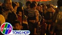 THVL | Phụ huynh ở Bắc Ninh đội mưa đưa con đi xét nghiệm sán lợn