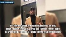 Patrice Evra s'excuse après ses propos contre le PSG