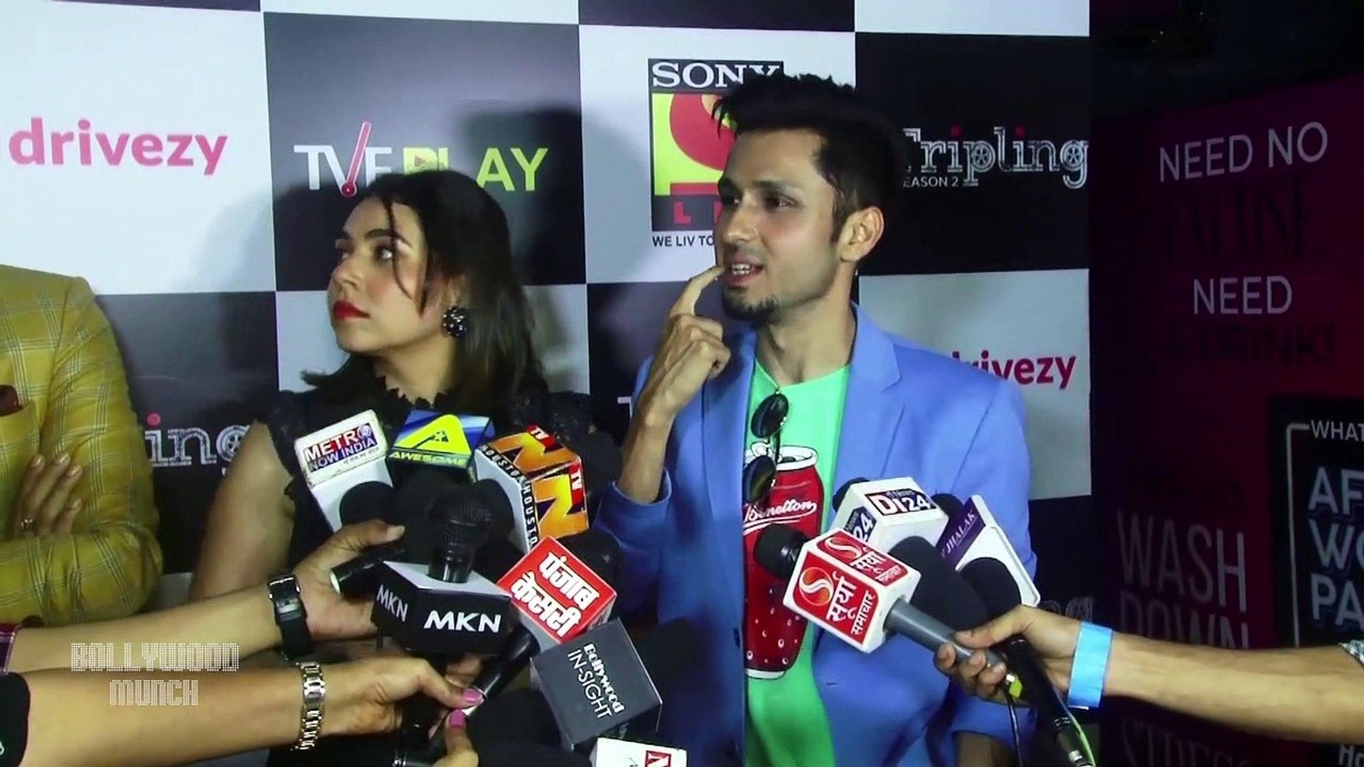 Trailer Launch Of Tripling Season 2 With Sumit Vyas, Amol Parashar, Maanvi  Gagroo