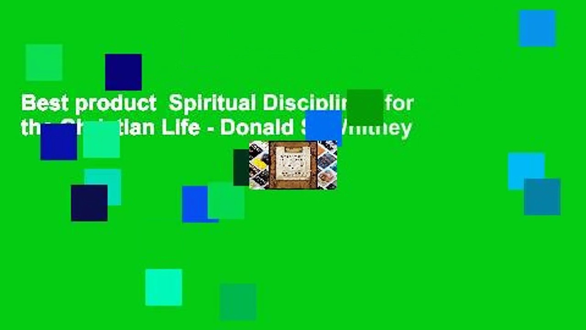 Best product  Spiritual Disciplines for the Christian Life - Donald S. Whitney