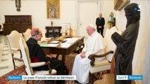 Pédophilie dans l'Église : le pape François a rejeté la démission du cardinal Barbarin