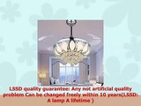 Luxury Modern Crystal Chandelier Ceiling Fan Lamp Folding Ceiling Fans With Lights Chrome