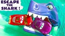 Hot Wheels Race Off Escape the Shark Challenge with Disney Pixar Cars 3 McQueen