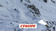 le run de Reine Barkered à Verbier en 2012 - Adrénaline - Freeride World Tour