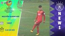 6 cầu thủ CLB Hà Nội dự Vòng loại U23 Châu Á 2020: Bạn kỳ vọng vào cái tên nào nhất? | HANOI FC