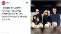 Héritage de Johnny Hallyday. Laura et David remportent une première bataille aux Etats-Unis
