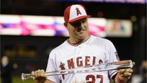 Mike Trout Gets Record Contract