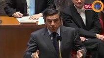 """Petit souvenir du lapsus de François Fillon quand il parle de """"gaz de ..."""""""