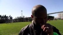 Eric Chelle coach du FC Martigues avant FCM Athletico Marseille
