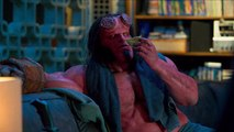 Ian McShane, David Harbour Join A Secret Club In 'Hellboy' New Clip