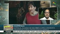 Guatemala: emiten orden de captura contra exfiscal Thelma Aldana
