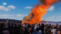 """""""Festa da Manteiga"""" celebra o fim do inverno na Rússia"""