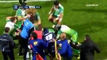 Rugby Pro D2  la bagarre générale contre Colomiers et Montauban