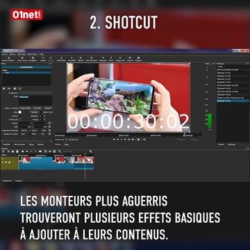 Les meilleurs logiciels gratuits de montage vidéo pour Windows
