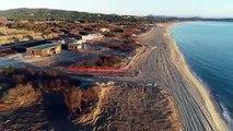 L'évolution des plages de Pampelonne depuis le mois de septembre 2018