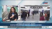 Kuota Penumpang Uji Coba MRT Ditambah Jadi 50 Ribu