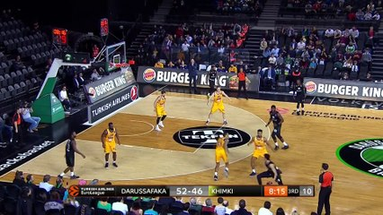 EuroLeague 2018-19 Highlights Regular Season Round 27 video: Darussafaka 91-85 Khimki