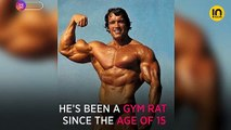Terminator star Arnold Schwarzenegger explains how he approaches weights at the gym