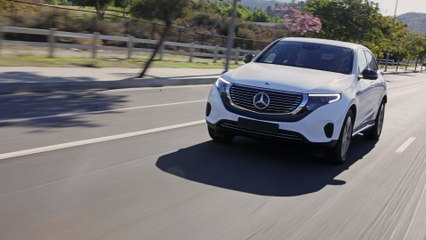 2020 Mercedes-Benz EQC 400 Prototype