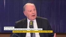 """Affaire Benalla : le Sénat """"ne devrait pas saisir le parquet"""" pour les collaborateurs d'Emmanuel Macron, estime le sénateur centriste Hervé Marseille"""