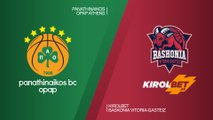 Panathinaikos OPAP Athens - KIROLBET Baskonia Vitoria-Gasteiz Highlights | EuroLeague RS Round 27