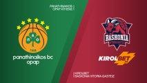 Panathinaikos OPAP Athens - KIROLBET Baskonia Vitoria-Gasteiz Highlights   EuroLeague RS Round 27