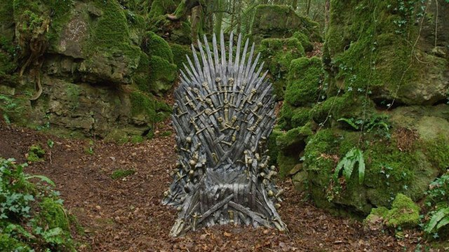 HBO hides 6 iron thrones of Game of Thrones around the world