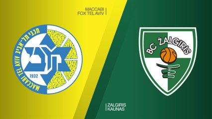 EuroLeague 2018-19 Highlights Regular Season Round 27 video: Maccabi 83-85 Zalgiris