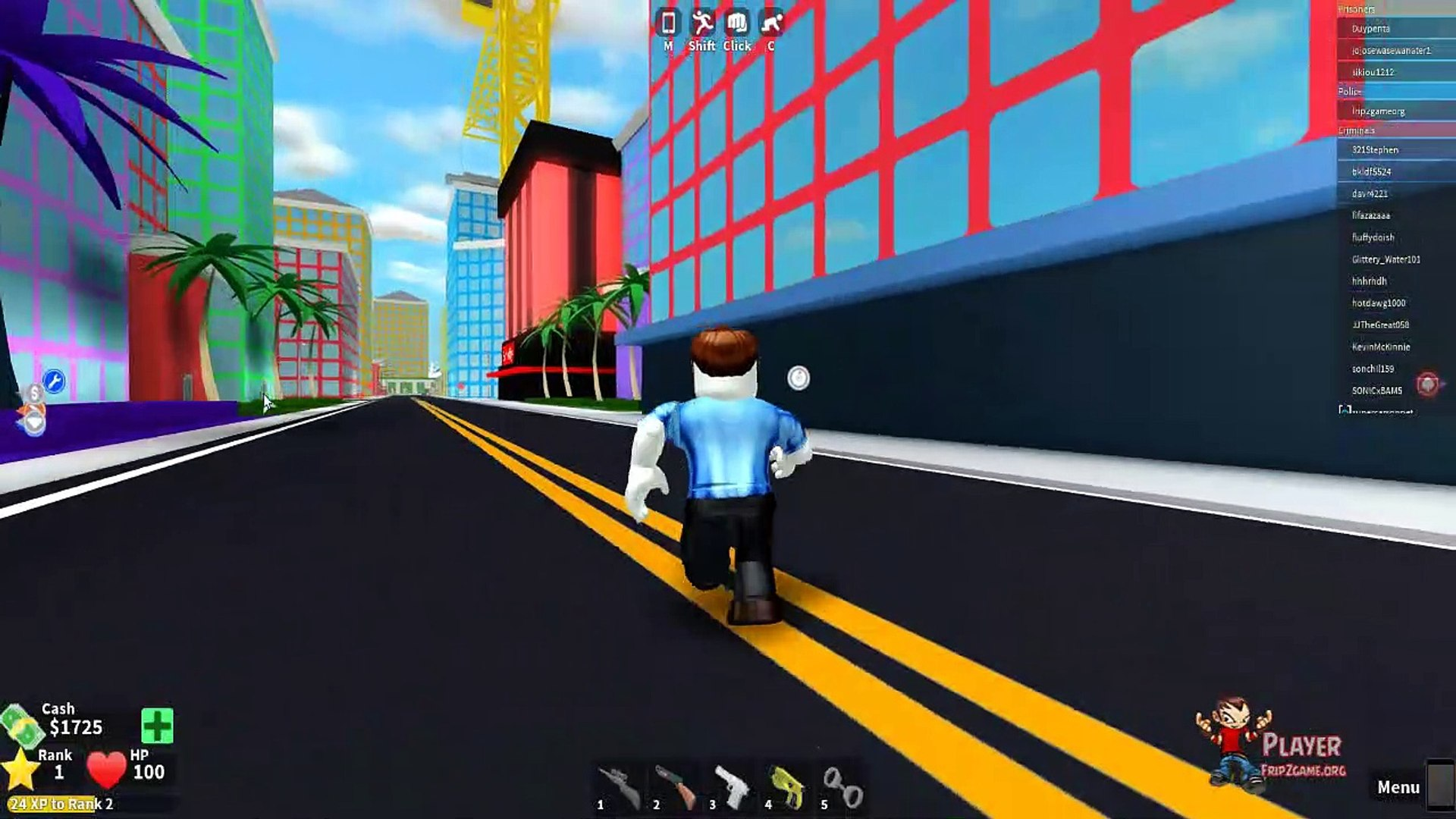 Roblox Games Mad City