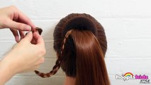 DIY Français: Chignon Tressé | Pancaked Bun of Braids | Easy DIY French Style
