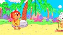 Lion de la Famille ⛑️ Lavez-vous les Mains: l'Immunité vs Bactéries dessin animé Pour Enfants