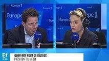 """Geoffroy Roux de Bézieux : """"On ne peut pas continuer à travailler moins que les autres"""""""