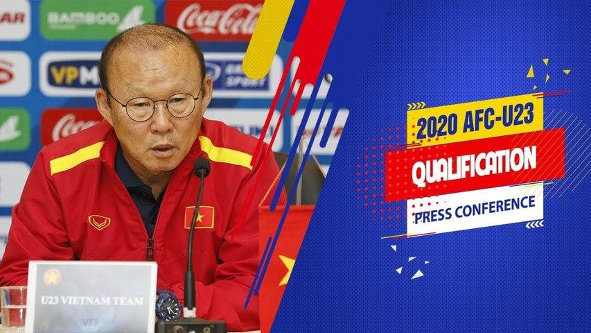 """HLV Park: """"U23 Việt Nam không có đủ thời gian chuẩn bị nhưng vẫn sẽ đặt mục tiêu cao nhất"""""""