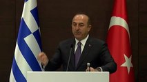 Antalya - Dışişleri Bakanı Mevlüt Çavuşoğlu, Yunan Mevkidaşı ile Ortak Basın Toplantısı Düzenledi -...