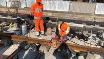 Les travaux de la future ligne de tramway se poursuivent à Angers