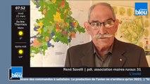 René Savelli président de lassociation des maires ruraux de Haute-Garonne invité de France Bleu Occitanie