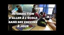 L'Italie interdit l'école aux enfants non-vaccinés
